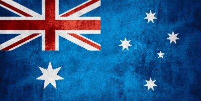Poster bandiera di Australia