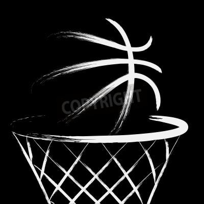 Poster Basket, vettore