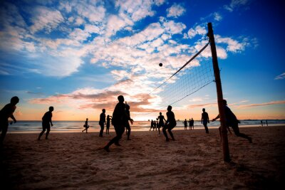 Poster Beach volley