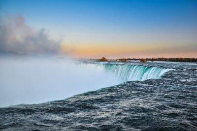 Poster Bella acqua Niagara Falls, Canada