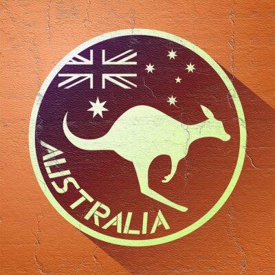 Poster bella icona australia