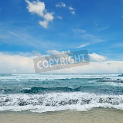 Poster belle onde del mare