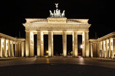 Poster Berlino - Porta di Brandeburgo