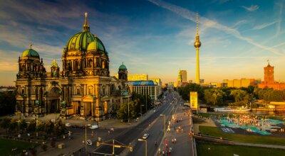 Poster Berlino - vista sulla città