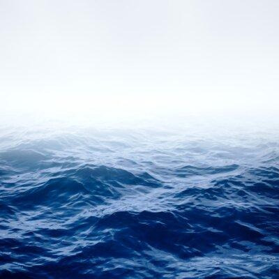 Poster Blu chiaro mare e cielo