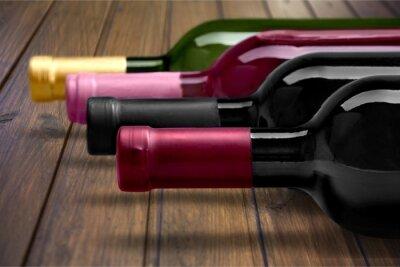 Poster Bottiglia di vino.