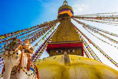 Poster Bouddhanath Stupa, Kathmandu, Nepal