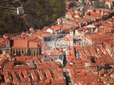 Poster Brasov Old Town