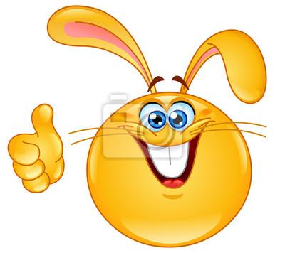 Bunny emoticon manifesti da muro • poster smilie 2db35c583b32