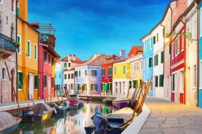 Poster Burano Venice Italy