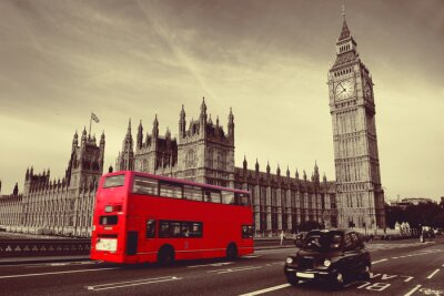 Poster Bus a Londra
