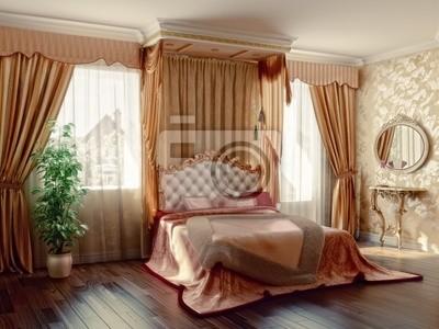 Camera da letto manifesti da muro • poster coperte, conveniente ...