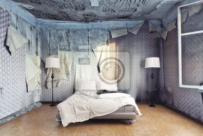 Poster: Camera da letto di lusso