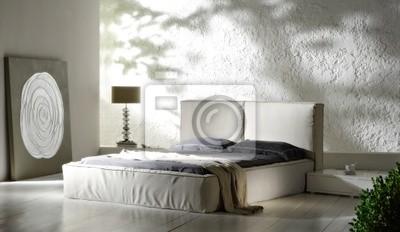 Poster: Camera da letto minimal
