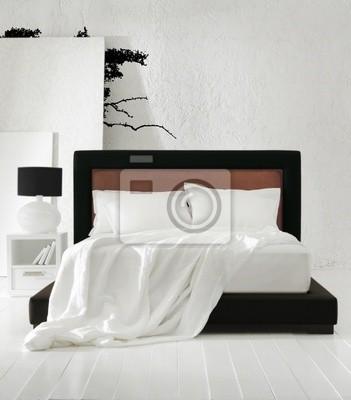Camera da letto minimal manifesti per il muro • poster capezzale ...