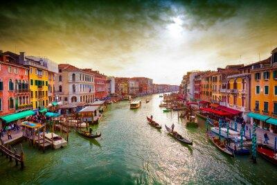 Poster Canal Grande, Venezia, Italia.