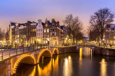 Poster Canali di Amsterdam