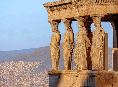 Poster Cariatidi, Acropoli di Atene
