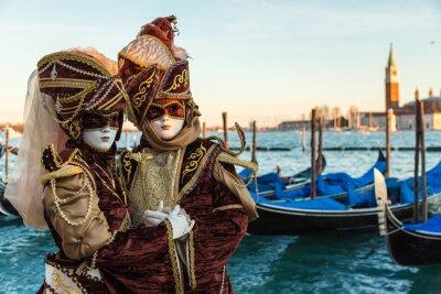 Poster Carnevale Venezia