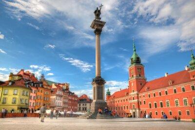 Poster Centro storico di Varsavia, Polonia