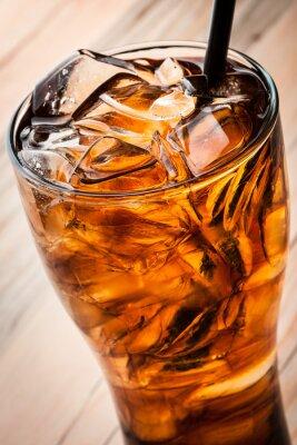 Poster Cocktail alcolico con cola