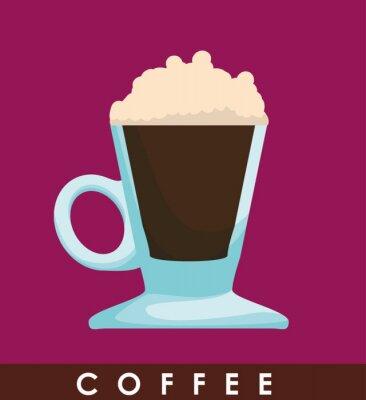 Poster Coffe icona del design