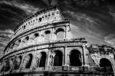Poster Colosseo a Roma, Italia.