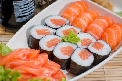 Poster comida japonesa