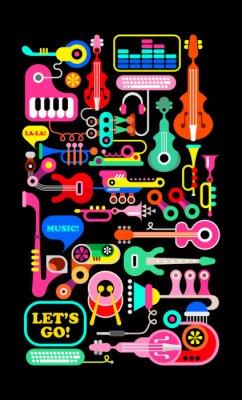 Poster Composizione musicale