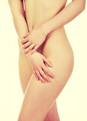Poster Corpo della bella donna.