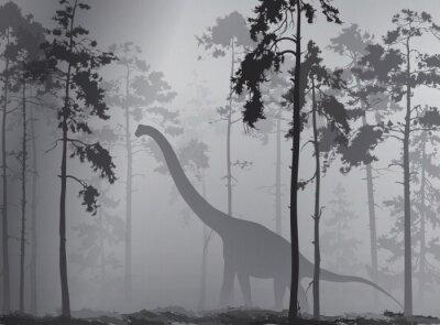 Poster dinosauro