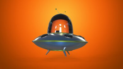 Poster disco volante