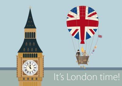 Poster disegni alla moda di Londra