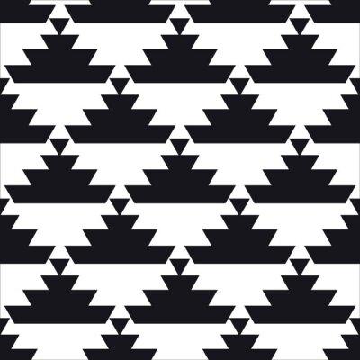 Poster disegno geometrico senza soluzione di continuità