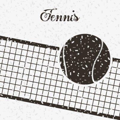 Poster disegno sport tennis