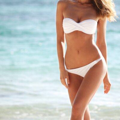 Poster Donna in bikini