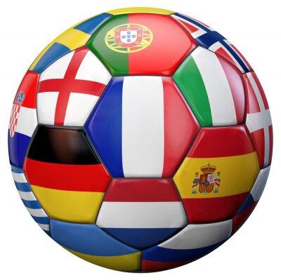 Poster Europei di calcio