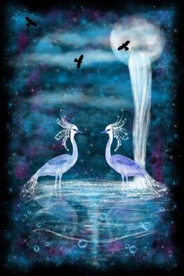 Poster Fantasy due aironi