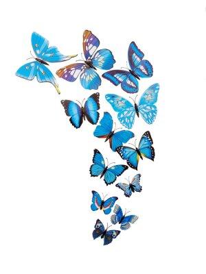 Poster Farfalle adesivi murali