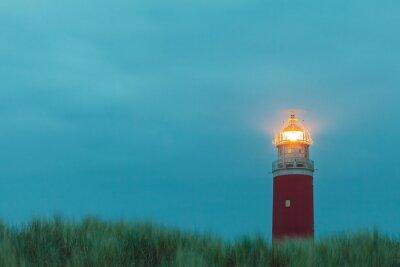 Poster Faro al isola olandese di Texel