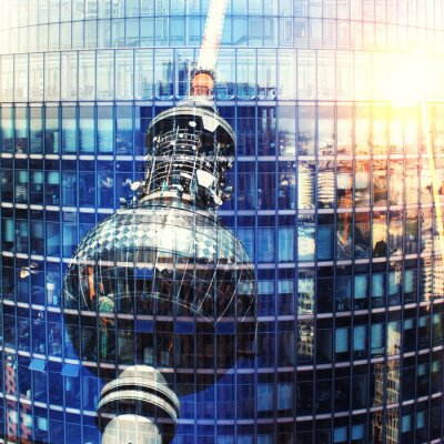 Poster Fernsehturm Berlin