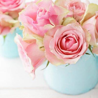 Poster fiori in un vaso