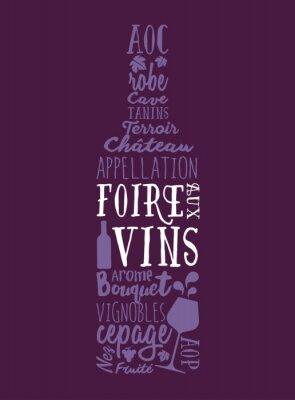 Poster Foire aux Vins