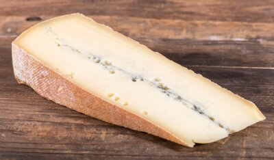 Poster formaggio morbier Francese