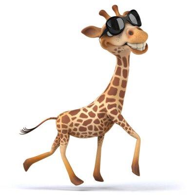 Poster Fun giraffa