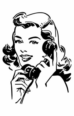 Poster Gal Carino Telefonare