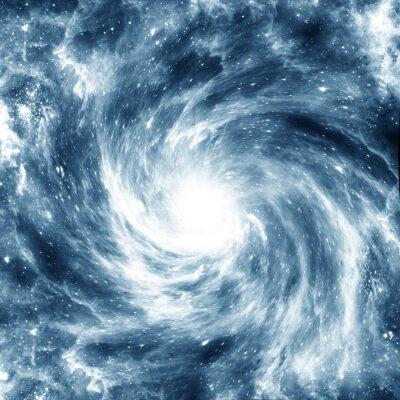 Poster Galassia a spirale