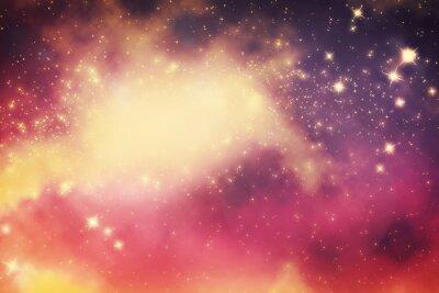 Poster Galassia con le stelle e lo spazio universo fantasy.