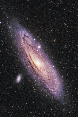 Poster Galassia di Andromeda