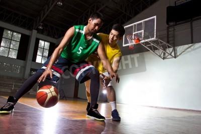 Poster Giocatore Basketbal nel gioco